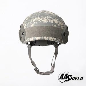 Image 4 - AA Shield Ballistic ACH High Cut Tactical TeijinHelmet Bulletproof FAST Aramid Safety NIJ Level IIIA  Military Army ACU