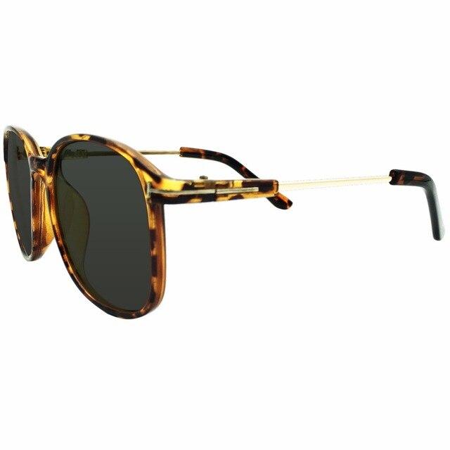 ad2993362d9 Tinted Green Polarized Oversize Frames Prescription Sunglasses Glasses Mens  Womens Tortoise Myopia -0.5 to -6.0 Shortsighted New