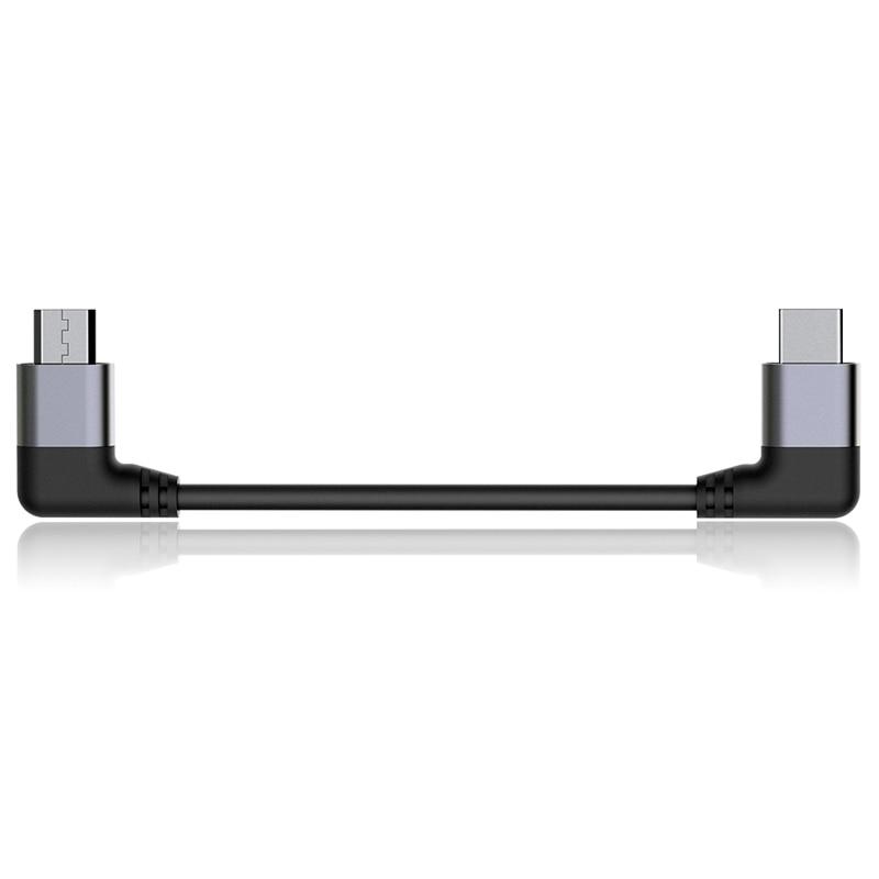 FiiO CL06 Type-C to Micro USB Hifi Audio Decord Cable For MChord MOJO FiiO Q1II/Q5/M7 DAP Mobile Phones and Players усилитель fiio q5