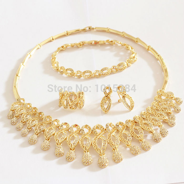 jewelry pendants austrian earrings fashion jewellery christmas product plated gift sets index gold women necklaces necklace white bracelet crystal