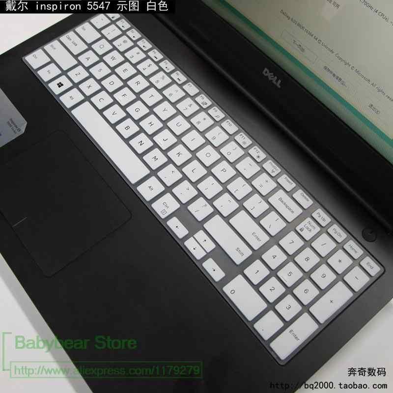 واقي للوحة مفاتيح الكمبيوتر المحمول لـ Dell 15 3000 5000 7000 Series 15Cr-4528B Vostro 15-3559 15.6 Inch