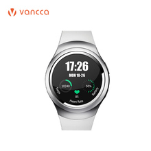 VANCCA V2 Smart watch Bluetooth 4.0 Intelligent Wrist Watch Support Android iOS Heart rate Water Resist SIM Card Phone Call