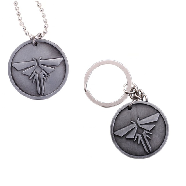 Game series the last of us necklace pendant metal key chian keyrings game series the last of us necklace pendant metal key chian keyrings firefly dog tag necklace aloadofball Choice Image