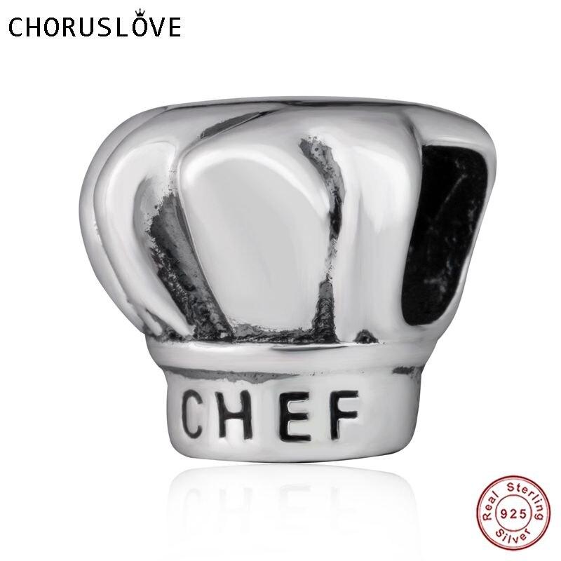pandora charm cappello chef