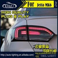AKD Car Styling Tail Lamp For VW Jetta Tail Lights Jetta MK6 LED Tail Light LED