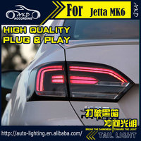 AKD Car Styling Tail Lamp For VW Jetta Tail Lights Jetta MK6 LED Tail Light LED