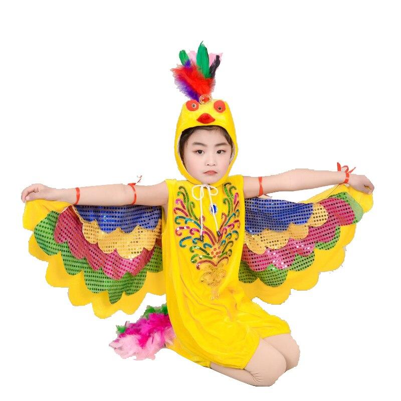 Toddler Kids Boy Girl Children Cartoon Owl Cape Rainbow Bird Festival Costume US