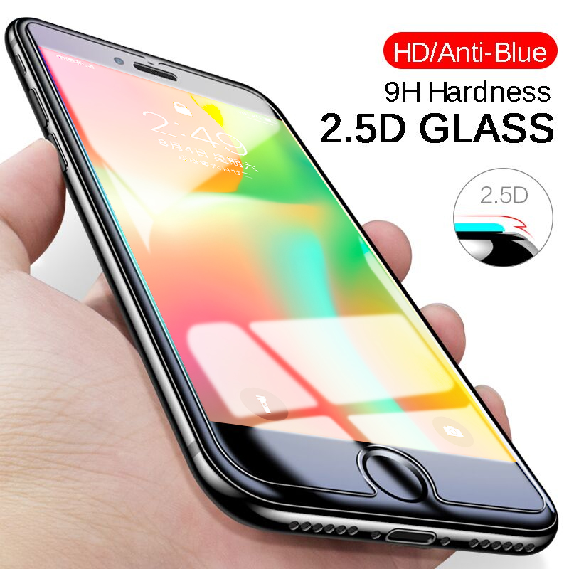 Protective Tempered Glass For Iphone 6 7 5 S Se 6 6s 8 Plus Glass Iphone 7 8 X XS Max XR Screen Protector Glass On Iphone 7 6S 8