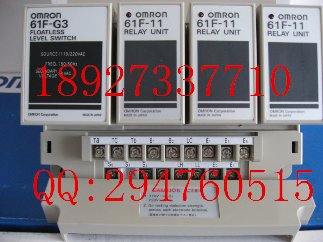 [ZOB] 100% new original omron Omron level switch 61F-G3 AC110 / 220V [zob] 100 new original authentic omron omron level switch 61f gp n ac220v 2pcs lot