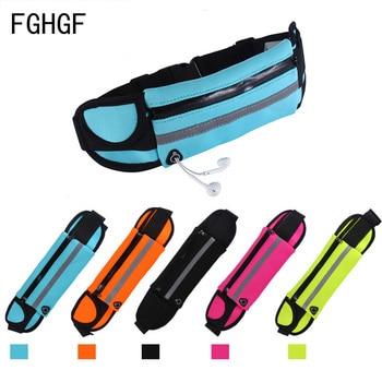 Waterproof Running Waist Bag Canvas Sports Jogging Portable Outdoor Phone Holder Belt Bag Women Men Fitness Sport Accessories 1 Home HTB11wiUL7zoK1RjSZFlq6yi4VXaG