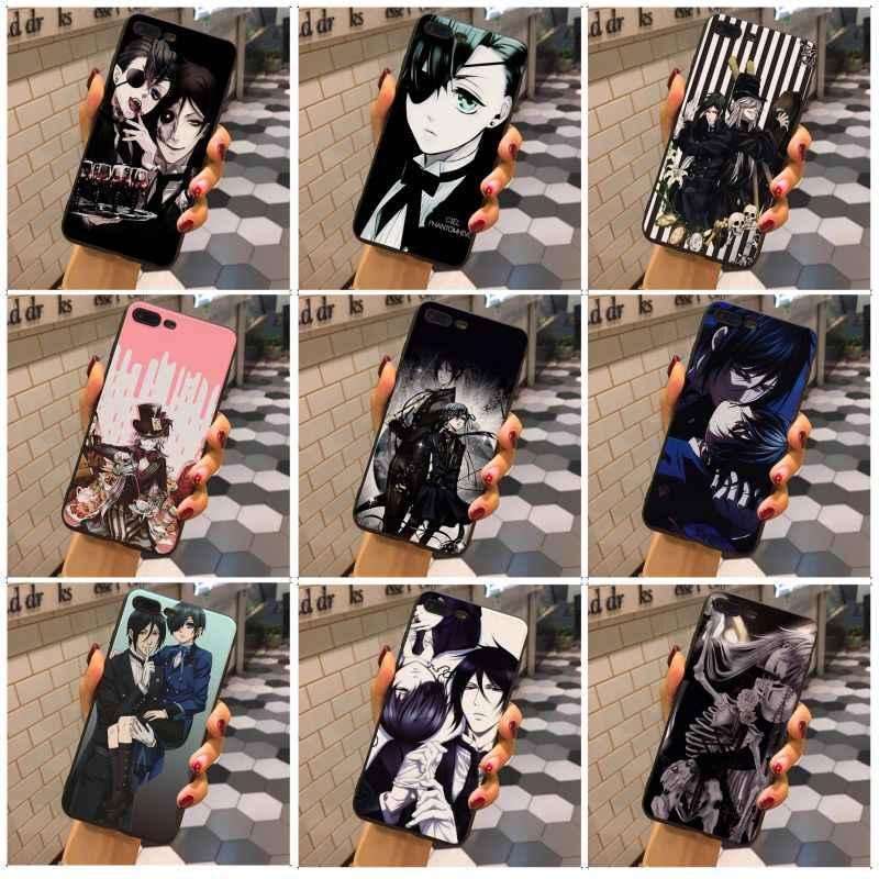 MaiYaCa Japanese Anime Black Butler Kuroshitsuji Newest Super Cute Phone Case For iphone X XS XR XSMax 7 8plus 6s 6plus 5s 5c SE