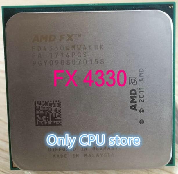 AMD FX 4330 FX 4330 Socket AM3 + четырехъядерный процессор 100% рабочий настольный процессор Бесплатная доставка|Процессоры|   | АлиЭкспресс