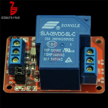 30A 5 v 1 Kanal Relais Modul mit Optokoppler Isolation High/Low Level Trigger Relais für Arduino(China)