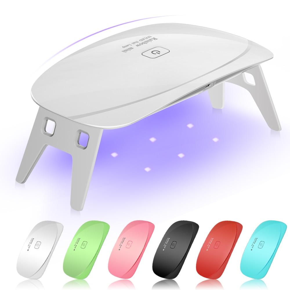 5 วัตต์ LED UV - เพ้นท์เล็บ