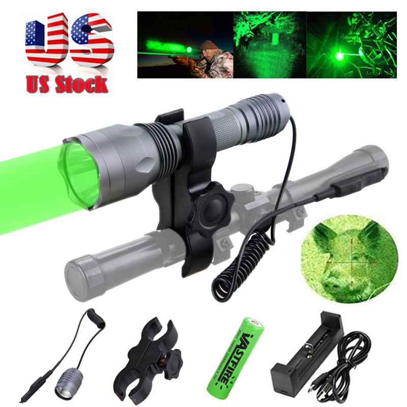 VASTFIRE Scout Light Mini Tactical LED Rifle Hunting Flashlight 20mm Picatinny Keymod Rail Mount Weapon light for Outdoor Sports in Weapon Lights from Sports Entertainment