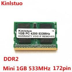 Nowy 1G 1 GB PC2-4200 DDR2-400/533/667 MHZ microDIMM 172pin pamięci laptopa dla Fujitsu Panasonic laptopa pamięci ram darmowa wysyłka