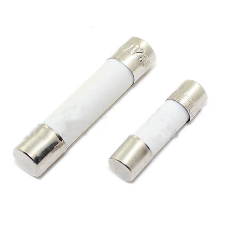 20Pcs 6x30mm 20Amp 20A 250V Ceramic Fuse Tube Fast Blow Fuse