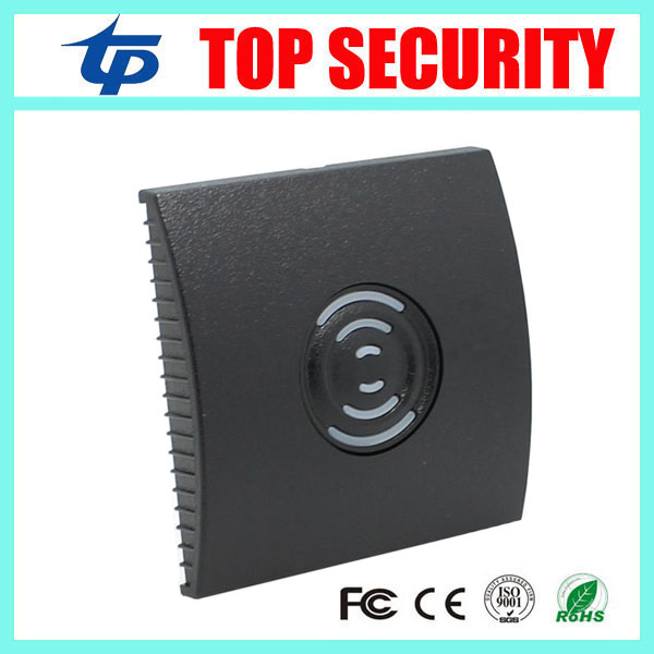 13.56MHZ MF card IC card access control card reader weigand 34 IP65 waterproof smart card reader for out door ZK good quality waterproof ip65 13 56mhz ic card