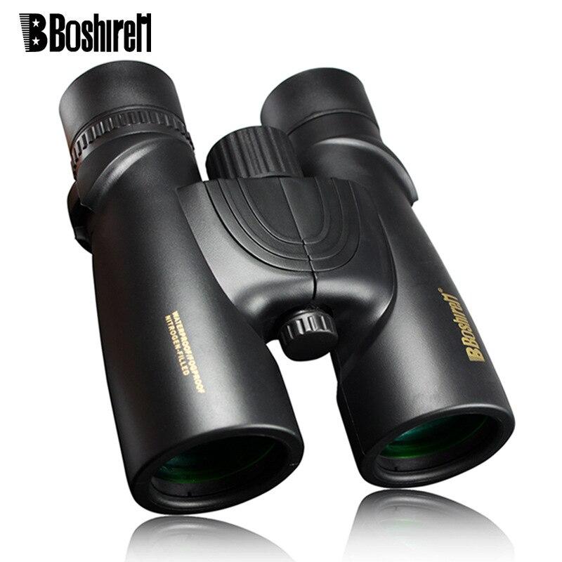 Black Friday new telescope 10X42 professional Binoculars Bak4 Nitrogen Waterproof Powerful hunting scope military compact