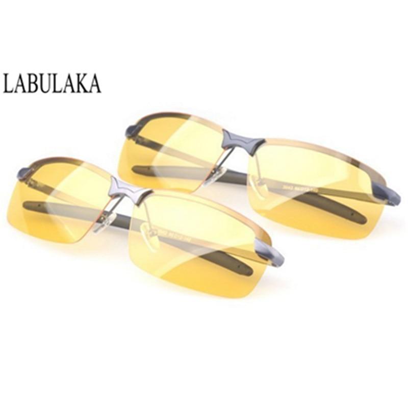 צהוב עדשה ראיית לילה נהיגה משקפיים - אבזרי ביגוד