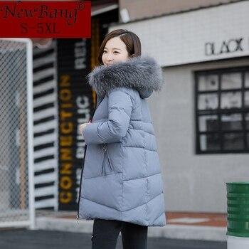 Newbang marca 5xl 6xl 6xl 8xl tamaño grande mujeres abrigos