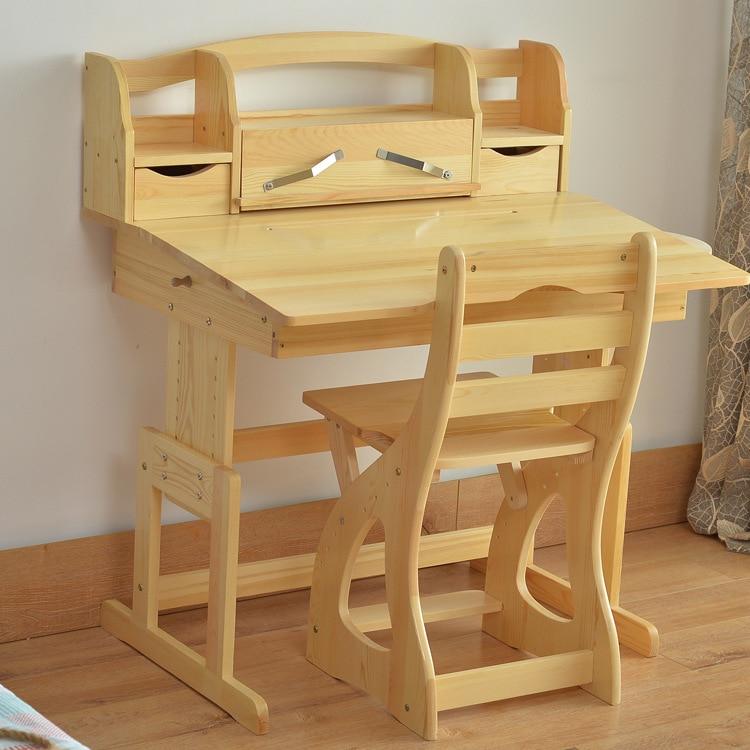solid wood children furniture sets children furniture children study desk chair bookcase sets. Black Bedroom Furniture Sets. Home Design Ideas