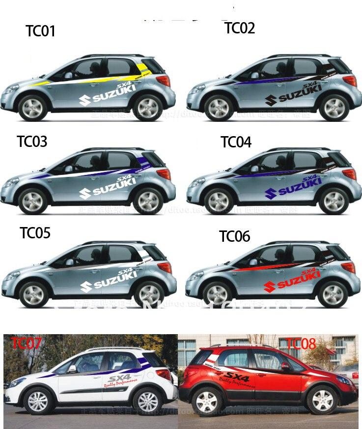 Fashion Racing Car Styling Car Body Sticker For Suzuki On Aliexpress