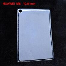 Для huawei M5 M5 lite Mediapad Медиа Pad 8,4 10,1 10,8 дюйма силиконовый чехол из термопластика, тab Pad Планшета чехол задняя крышка Держатель с подарком