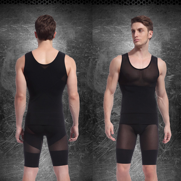 807c8b2c31795 2019 Hot Selling Mens Body Shaper Tummy Girdle Corset Vest Shapewear ...