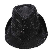 opening promotion-LED luminous hats Men and women Concert party cheering props flash jazz hat