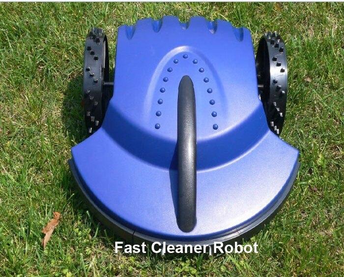 (Livraison gratuite) 100 m fil longueur Standard Robot coupe-herbe automatique avec batterie au plomb + Recharge automatique + télécommande + capteur de pluie
