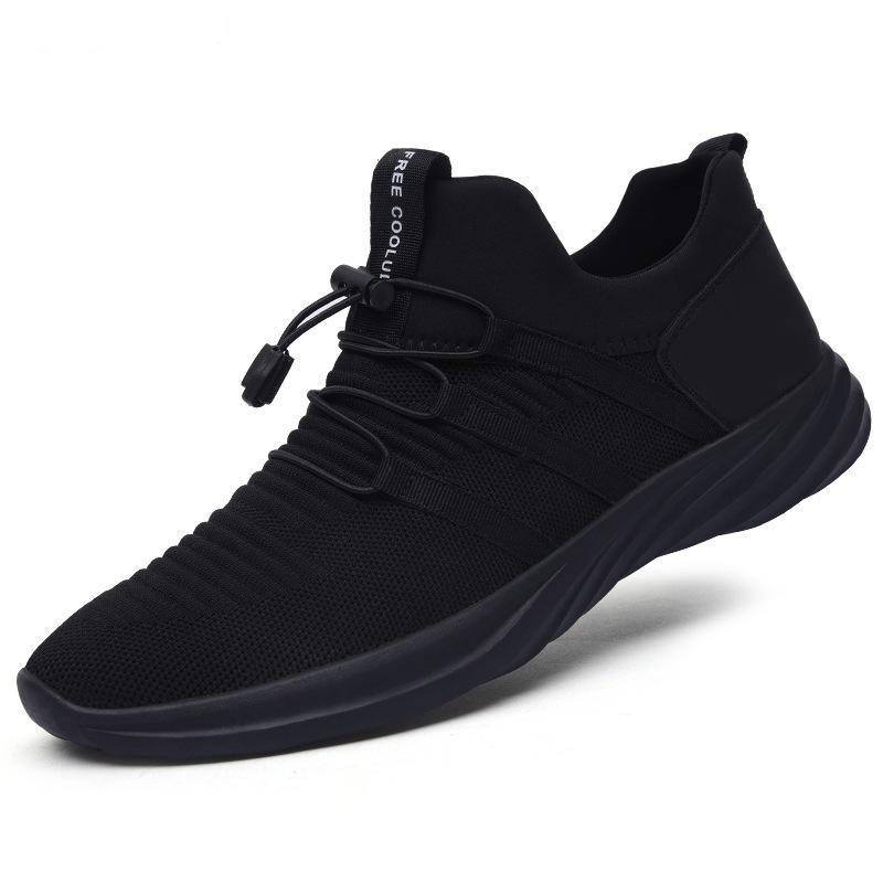 Summer Black Sports Man Sneakers Breathable Mesh Shoes Mens Trainers Fitness Shoes Men Casual Sneakers Luxury Brand Male Tennis