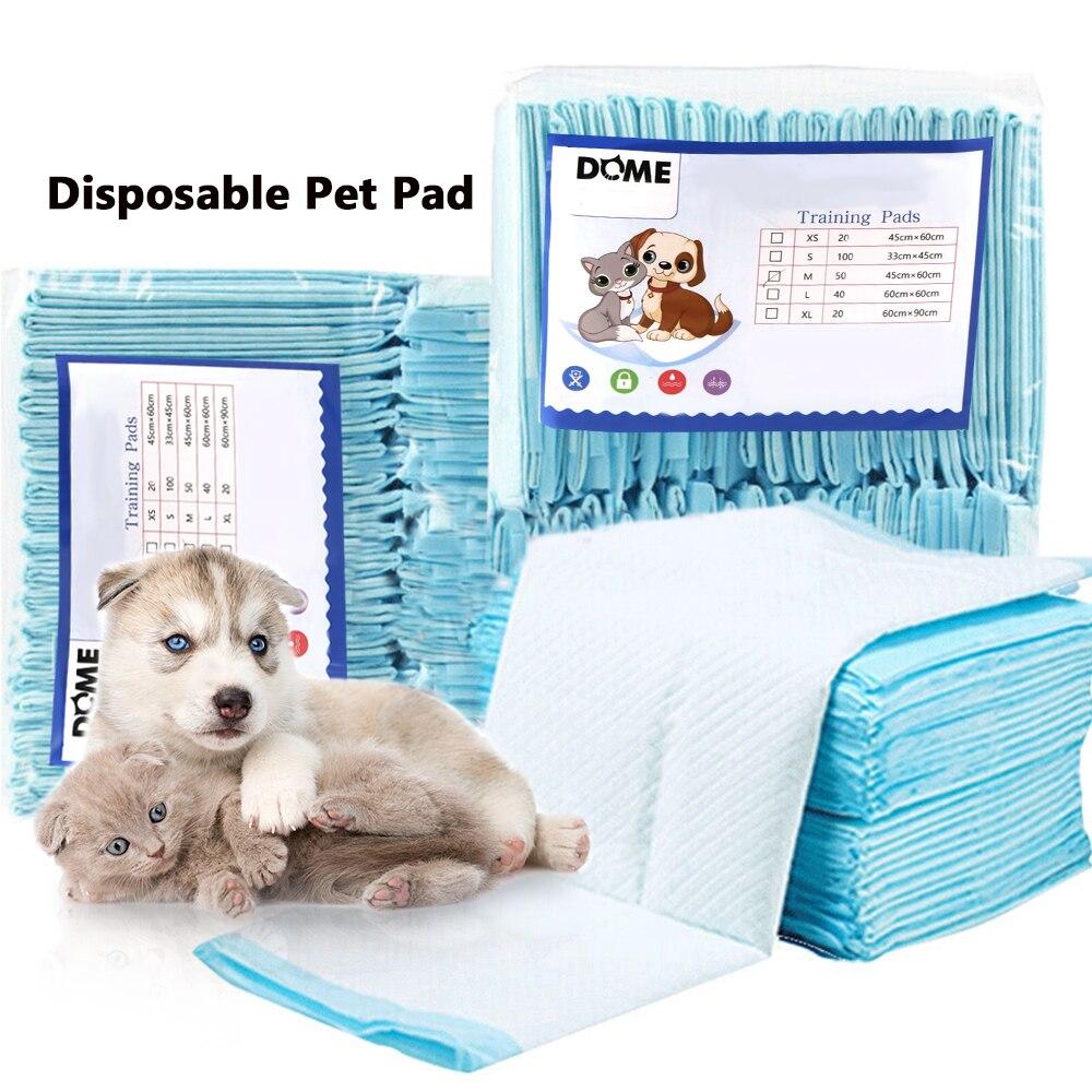 50pcs 60*45cm disposable Dog Diapers Super Absorbent Diaper Cat Dog Urine Pad Pet Diapers deodorant antibacterial Pet Dog Nappy
