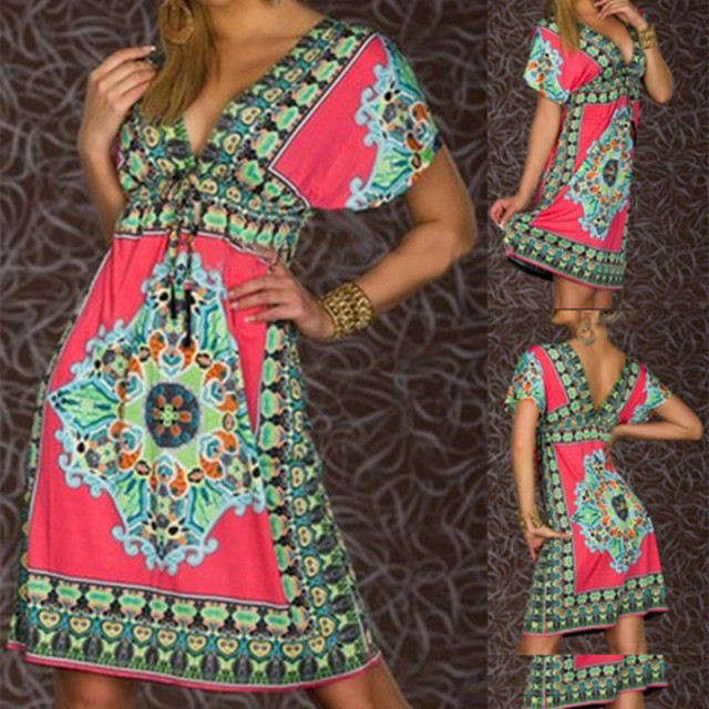 Tribal Light wild Style Dress