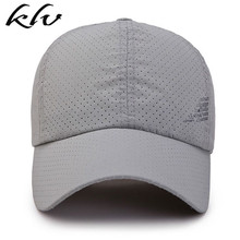 Men Women Summer Quick Dry Baseball Cap Solid Color Hollow Out Leisure Mesh Breathable Adjustable Sunshade Outdoor Sun Hat цены
