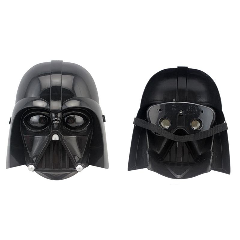 Halloween Party Cosplay For Kids Gift New Star Wars LED Lightsaber Stormtrooper Darth Vader Masks Helmet Costume Masquerade Toys