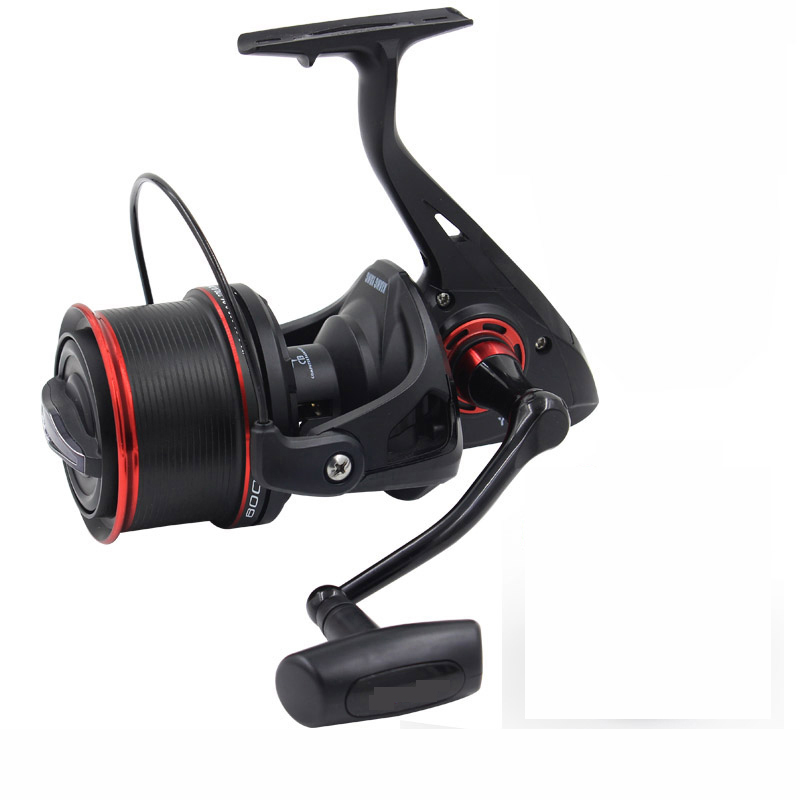 Spincasting Sea Fishing Spinning Reel 10000 Metal Spool 10+1BB Big Saltwater Catfish Fishing Reel Long Distant Wheel one spool sinolyn 35w 3 0 inch bi xenon square lens projector hid headlights full metal headlamp glasses lenses diy kit hi lo car styling