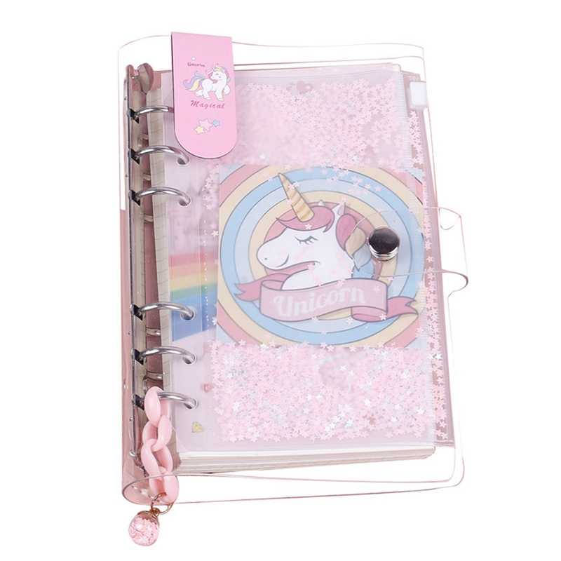97aade1f1e 2019 INS Unicorn Planner Book Suit A6 Spiral Notebook Hand book ...
