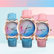 Elegance Retro Rainbow Design Women Watches Casual Quartz Wrist Watch women watches relojes mujer Relogio Feminino Saat Gift