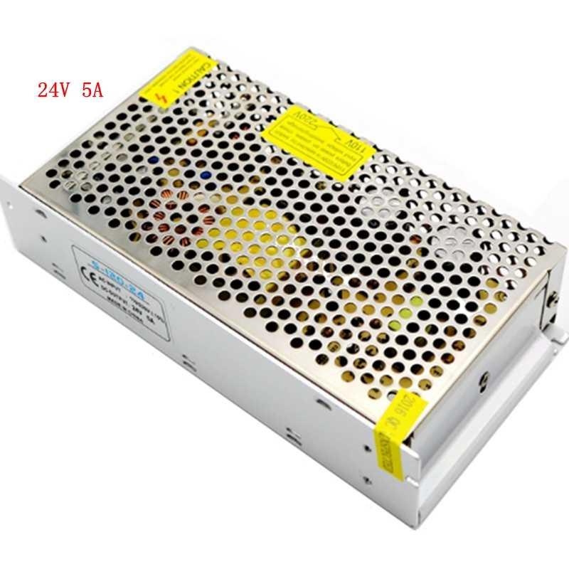 AC 110 V-220 V a DC 5 V 12 V 24 V 1A 2A 3A 5A 10A 15A 20A 30A 50A adaptador de interruptor fuente de alimentación LED tira de luz