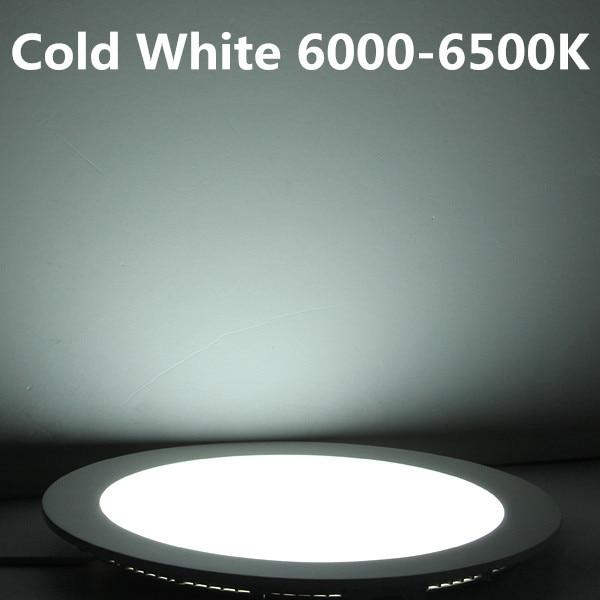 25 Վատ կլոր LED Առաստաղի լույսի - Ներքին լուսավորություն - Լուսանկար 6