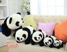 5 pieces a lot plush panda toys stuffed panda families dolls gift 307