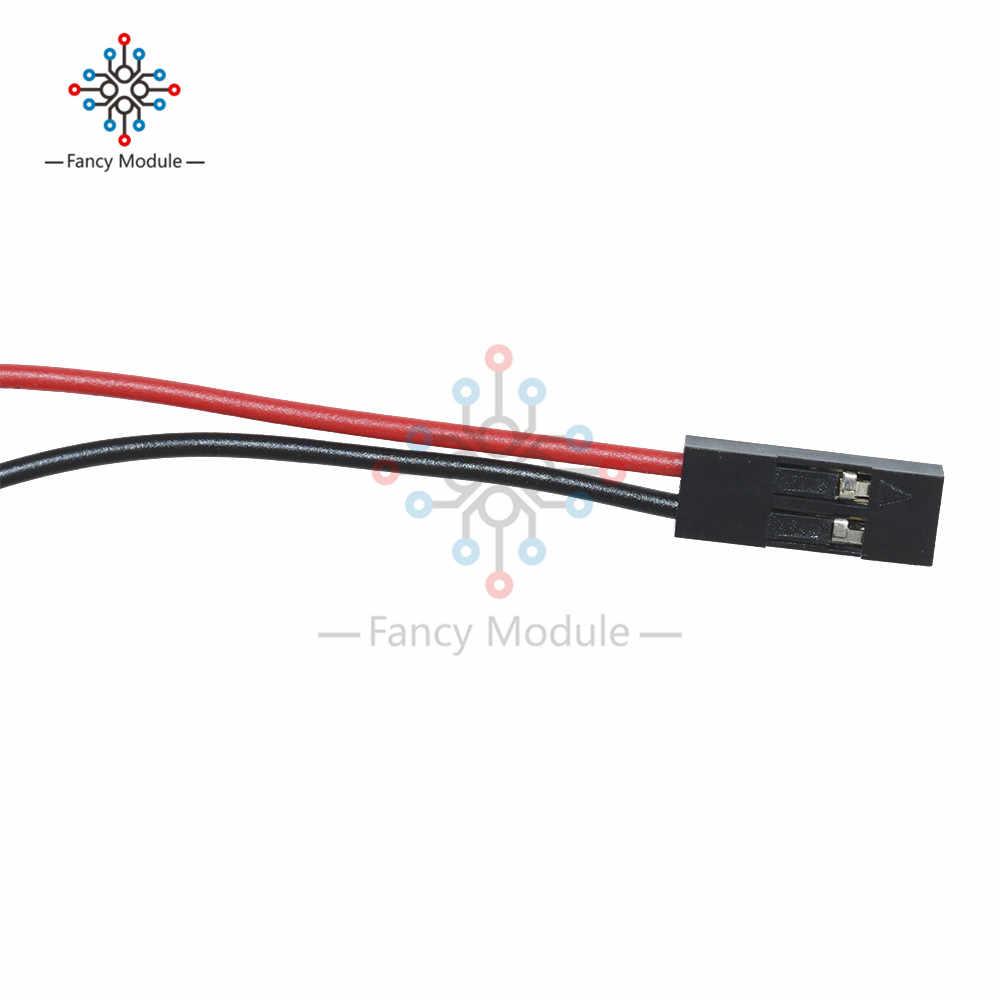 2 Pcs 2Pin 70 cm conjunto Cabo Fêmea-Fêmea Jumper Fio para Arduino 3D Reprap de Impressora