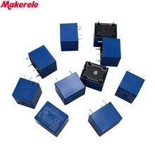 Hot 10 pcs DC 5V Coil 7A 240VAC 10A 125VAC/28VDC 5 Pins SPST Power Relay JQC-3F