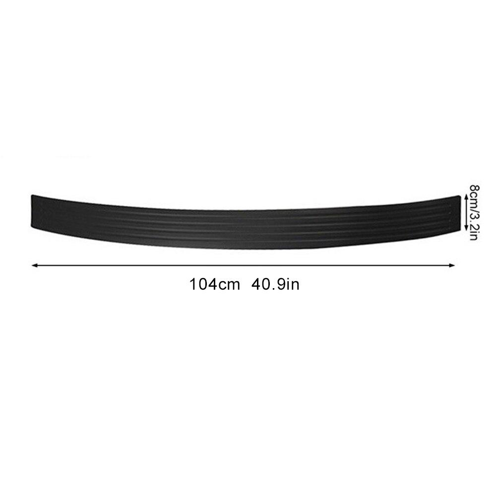 Задний бампер полоса Резиновая полоса универсальная анти-столкновение полоса крышка украшения SUV автомобили прочный 104 см