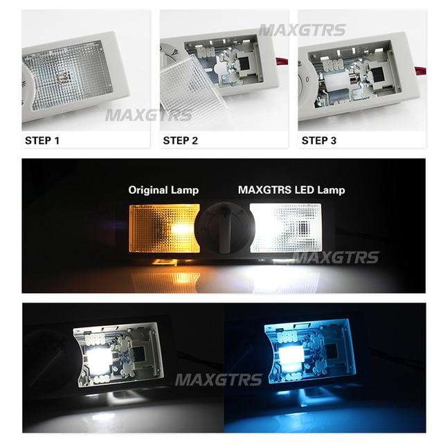 5X 31 36 39 41mm C5W 3030 Ceramic LED Car Festoon Dome Interior Reading Light Map Lamp Bulb DC12V/24V Canbus Error Free