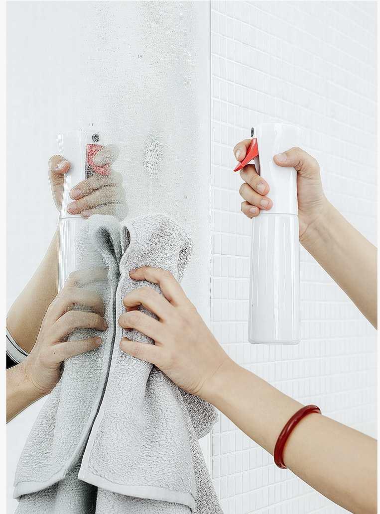 XIAOMI YIJIE Time-lapse Sprayer Bottle Fine YG-01 Mist Water Flower Spray Bottles Moisture Atomizer Pot Housework Cleaning Tools (1)
