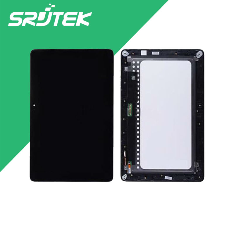 New 10.1'' inch For Asus Transformer Book T200 T200TA Full LCD Display + Touch Screen Digitizer Glass Assembly with Frame  for asus transformer pad tf700 v0 1 black full lcd display monitor with digitizer touch panel screen glass assembly with frame