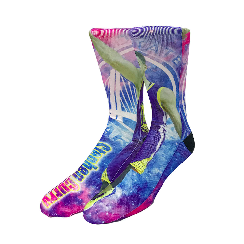 Calcetines largos de 50 colores Kobe Jordan Durant James