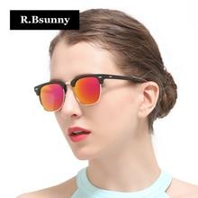 R.Bsunny HD circular polarized women sunglasses UV400 Classic fashion brand of high quality Antiglare R1605 Highlight femininity